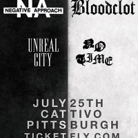 Negative Approach / Bloodclot at Cattivo!