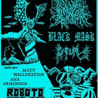 Infernal Coil, Black Mask, and Unfurl at Roboto Project