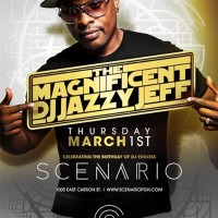 DJ Jazzy Jeff at Scenario