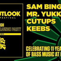 Lazercrunk Outlook Launch Party w/ Sam Binga (UK) + Mr. Yukk