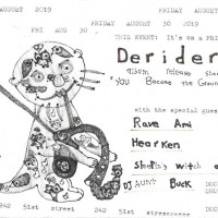Derider Album Release Show w/ our emergency contacts