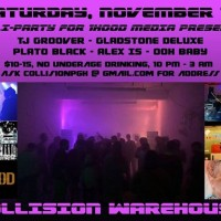 Soli-Party: TJ Groover, Gladstone Deluxe, Alex Is, Plato BLACK