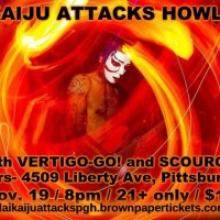 Daikaiju Attacks Howlers! with Vertigo-Go! and Scourge!
