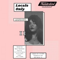 Locals Only curated by Maura Moonshine