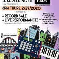 All Ears screening at Row House + Live Music at Belv's