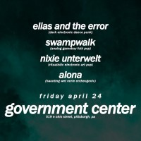 Swampwalk / Elias & the Error / Nixie Unterwelt / ALONA - LIVE!
